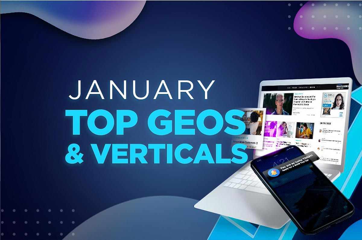 January 2021 Review: Top Geos & Verticals