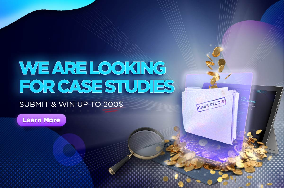 we are looking for case studies